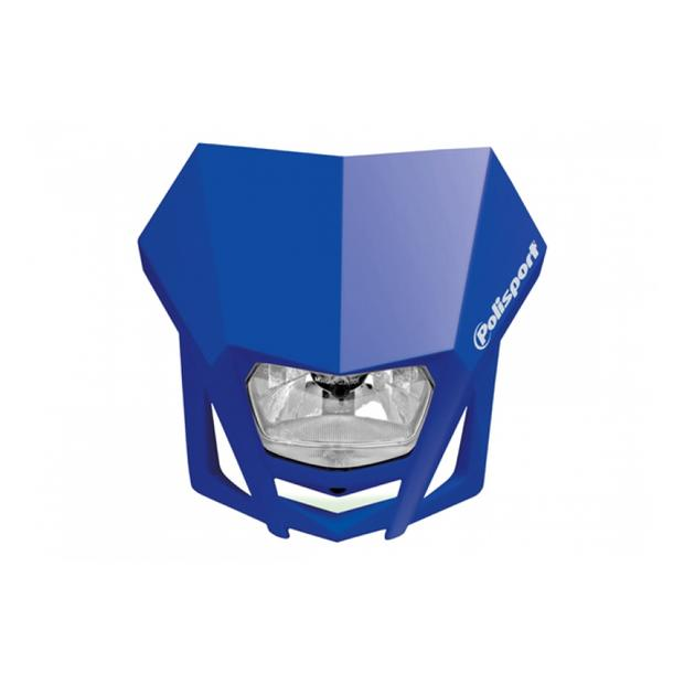 Headlight LMX blue motorcycle