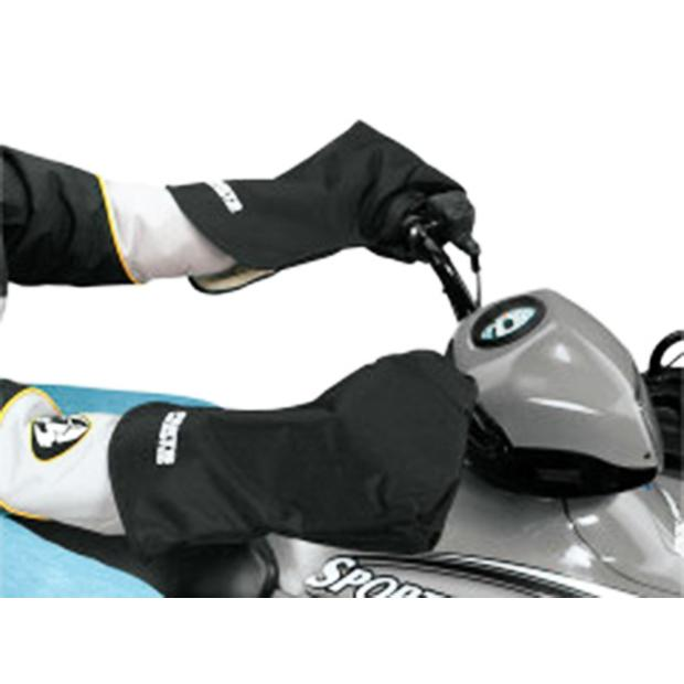 Handlebar mitts handwarmer and guard ATV quad
