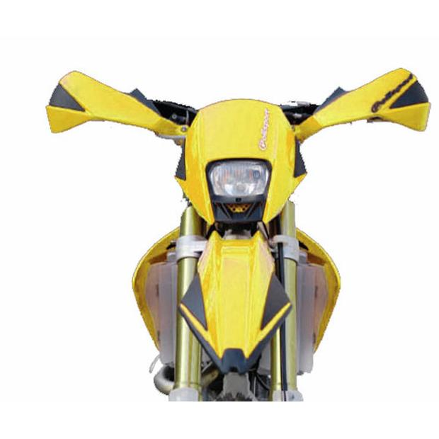 Headlight Exura yellow Enduro, Moto Cross, Motorcycle,...