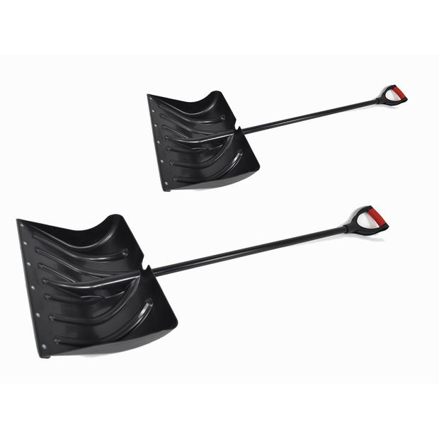 2x Snow plow original Hecht 460mm + 500mm