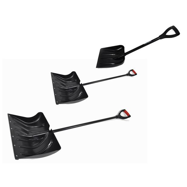 3x Snow plow original Hecht 460mm + 500mm + 330mm