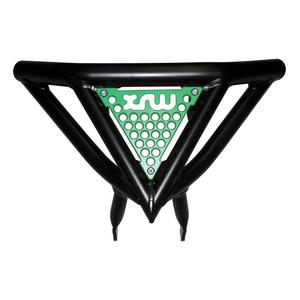 Front Bumper Arctic Cat DVX 400 black green