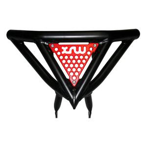 Front Bumper Arctic Cat DVX 400 black red