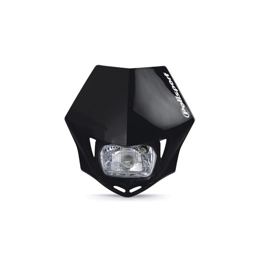 scheinwerfer hyosung xrx 125 polisport mmx lampenmaske 43 95. Black Bedroom Furniture Sets. Home Design Ideas