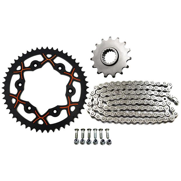 Chain kit KTM SX / EXC 250 / 300 X-wing