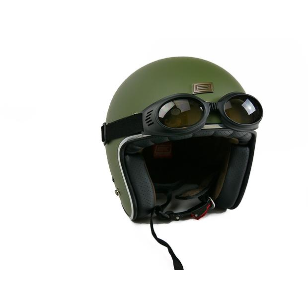 Helm Jet Origine Primo Army Green