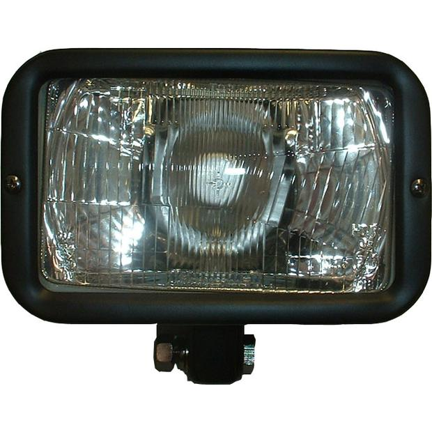 Auxiliary spotlight Rectangular complete with E-mark E9 50R