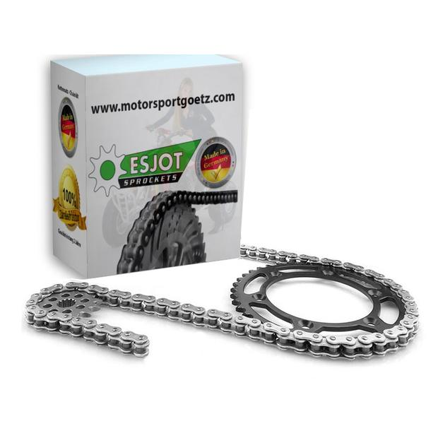 Chain kit Honda NX 650 / 500 Dominator o-ring 15/45 year...