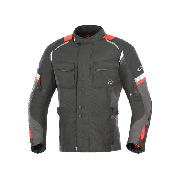 Buese Jacket Breno in black-red