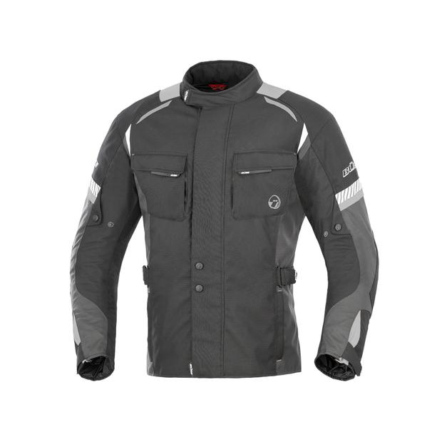 Buese Jacket Breno in black-grey