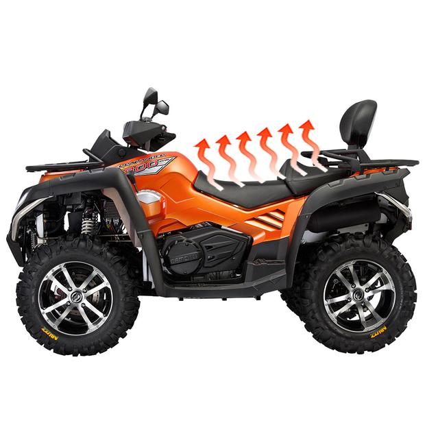Water proof carbon heated seats ATV Quad motorcycle scooter