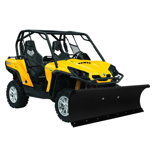 Snow plow Can Am Commander 1000 blade +  rubber bar in 60 152cm