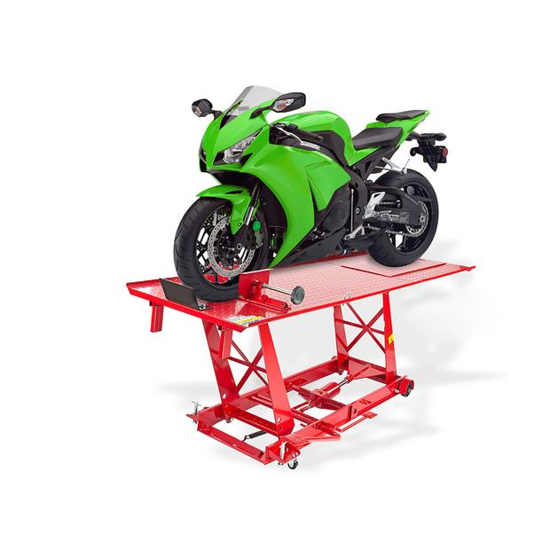 Motorcycle lift Pro XL mobile work platform 500 kg