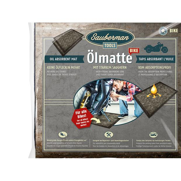 Oil matte Sauberman for motorcycle, quad, ATV, UTV 2...