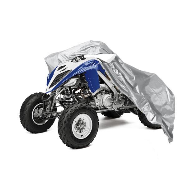 Yamaha YFM350R Abdeckplane ATV Quad Faltgarage blau