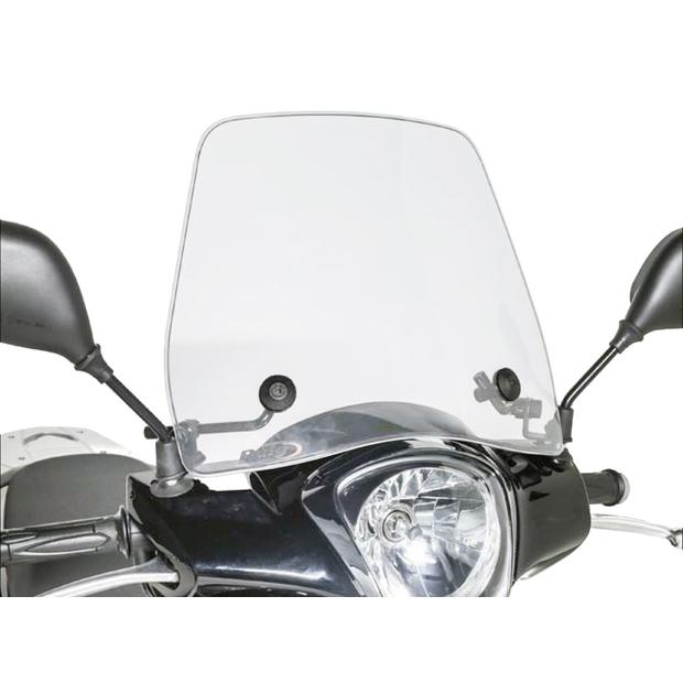 Windshield MBK XC 125 F Flame with e-mark