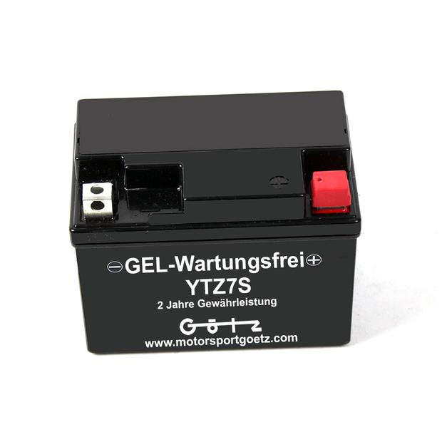 Batterie YTZ7S Gel Gas Gas SM 450 FSE, FSR /  Pampera 450