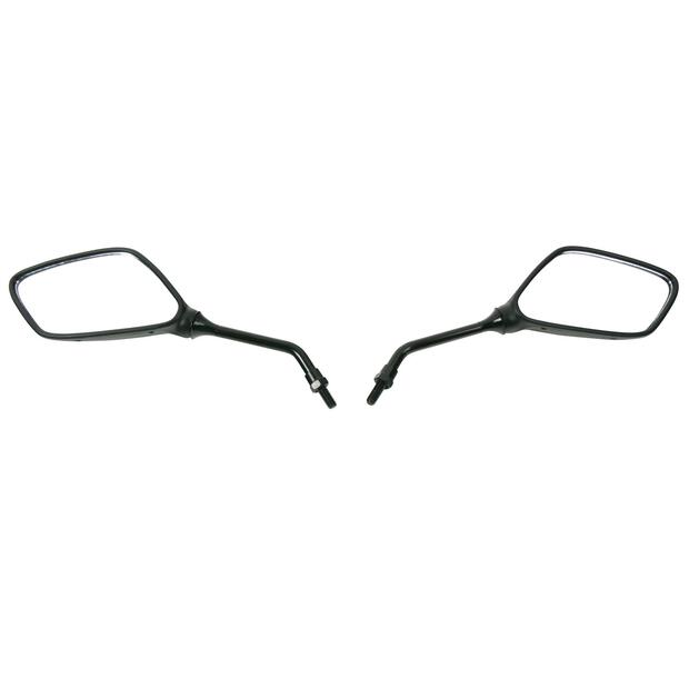 Mirror pair Yamaha DT 50 80 125 LC / R / RE / X