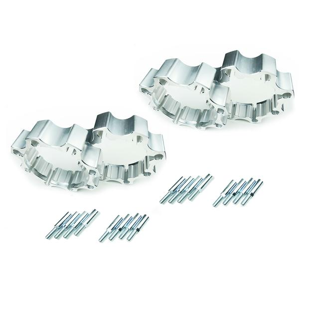 Wheel spacer Quadzilla 250 300 500 520 complete front x2...