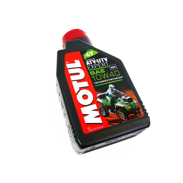 Motor Oil Motul Quad ATV UTV 10W-40 Synthetic Oil 1 liters
