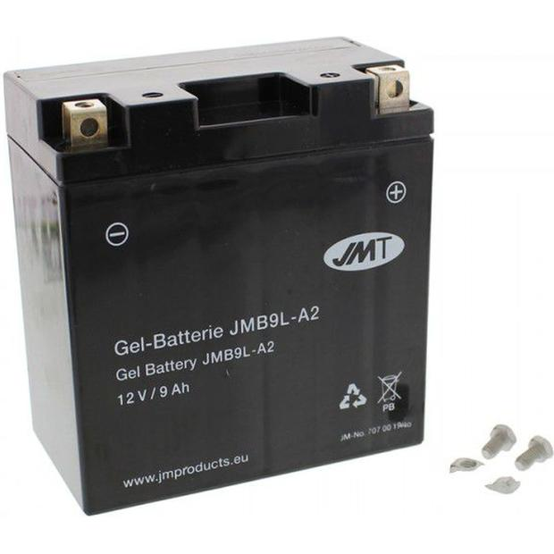 Battery gel YB9L-A2 Motorbike 12V 9Ah maintenance-free