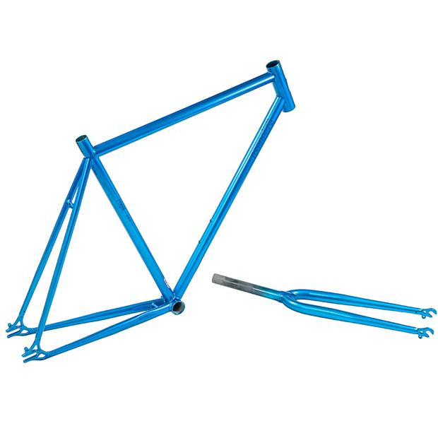 Csepel Royal *** Singlespeed Frame with Fork blue