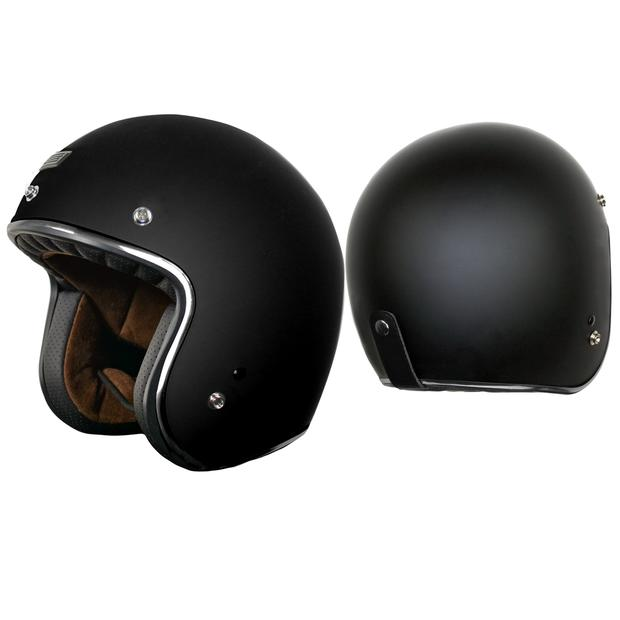 Helm Jet Origine Primo Matt Black