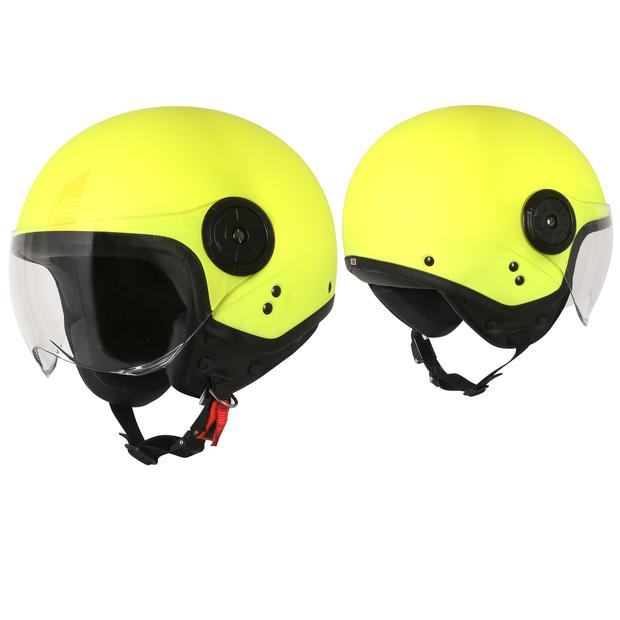Jet Helmet  Origine Neon Easy Matt Fluo Yellow
