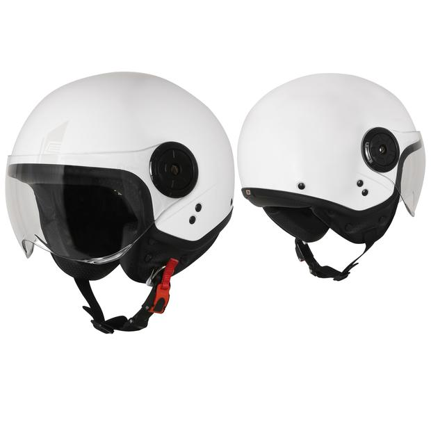 Jet Helm Origine Neon Easy White