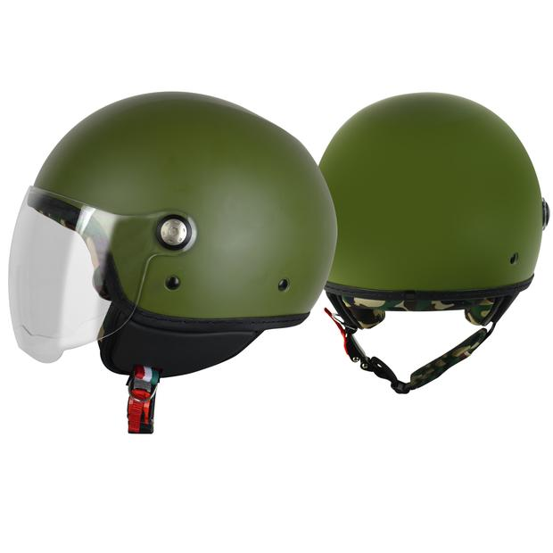 Jet Helm Origine Mio Army Green 58/M