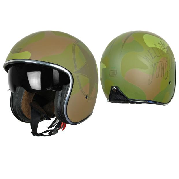 Helm Jet Origine Sprint Army Green