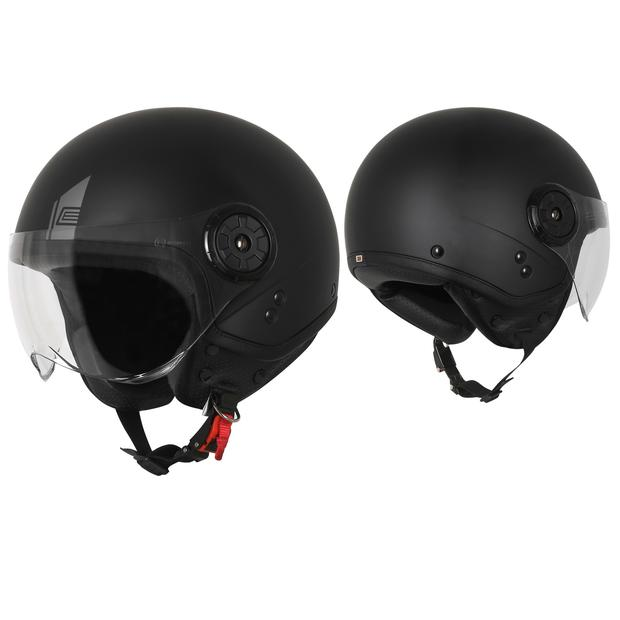 Jet Helm Origine Neon Easy Matt Black