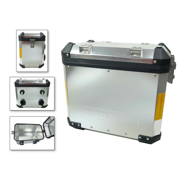 Touring case side Case aluminum 38 liters second choice