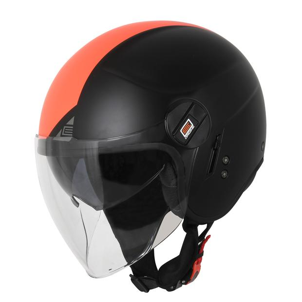 Jet Helm Origine Alpha Next Matt Fluo Red-Black