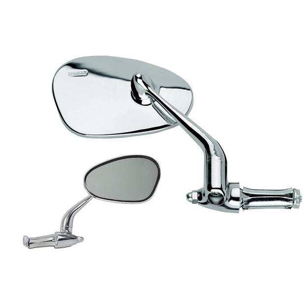 Mirror Busch & Muller swivel mirror oval chrome right 913...