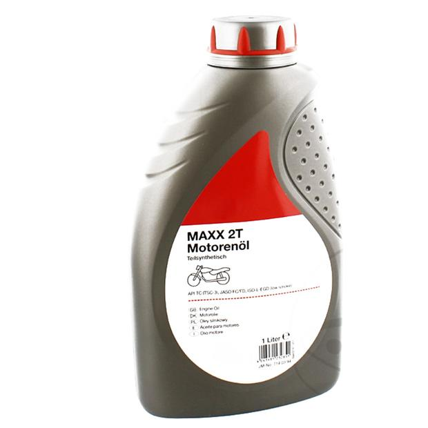 Oil 2-stroke synthetic/esterbasis 1 liter for Quad and...