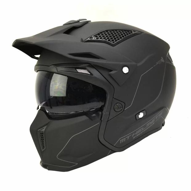 MT Helmets helmet STREETFIGHTER SV MATT BLACK