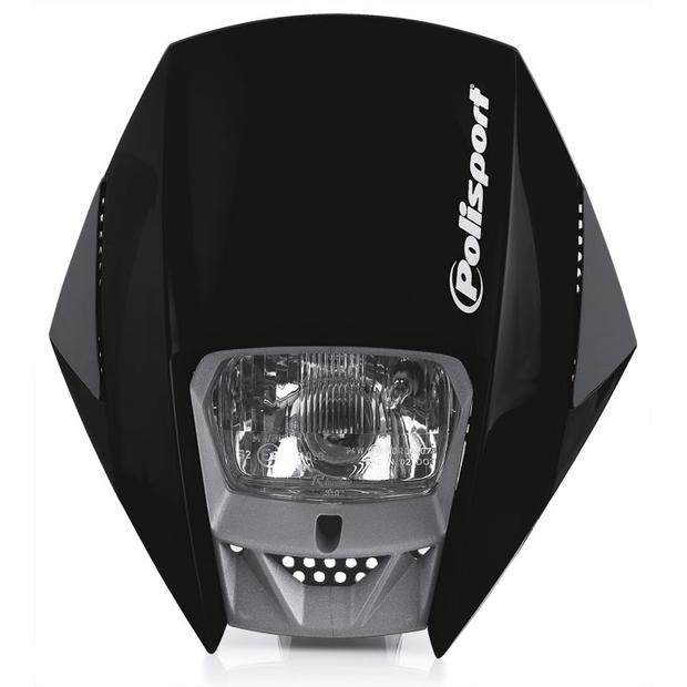 Headlight Exura black Enduro, Moto Cross, Motorcycle,...