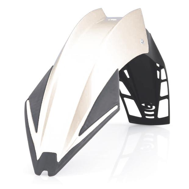 Front Fender white UFX for Enduro, Moto Cross, Off Road