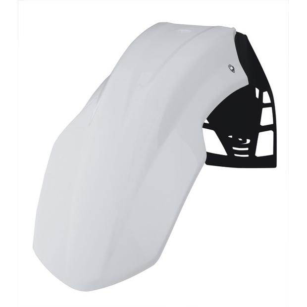 Front fender white FreeFlow Polisport