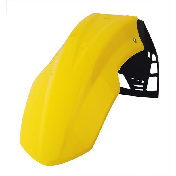 Front fender Suzuki RM yellow FreeFlow Enduro, Moto Cross