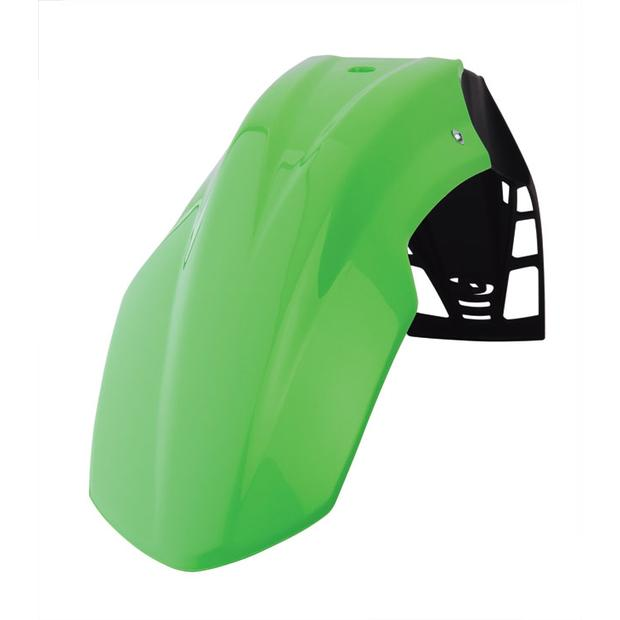 Front fender green Free Flow Enduro, Moto Cross