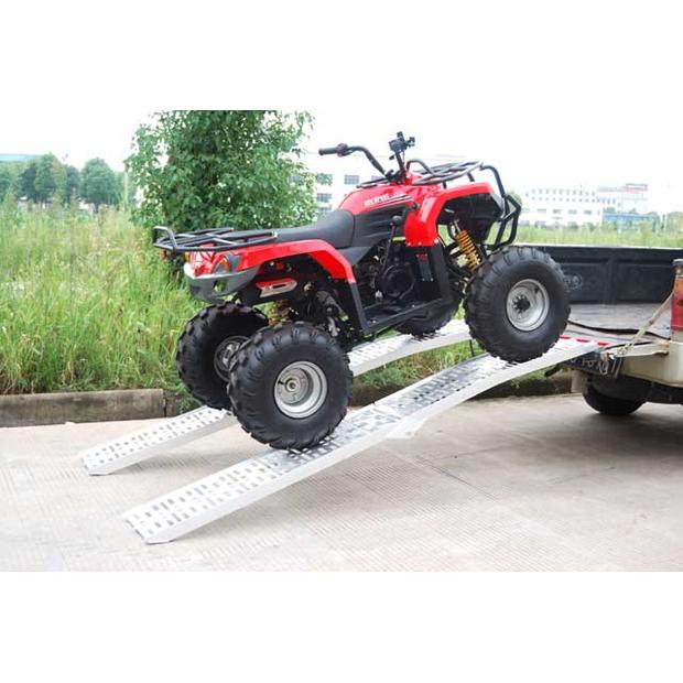 Aluminum folding ramp Quad ATV motorcycle