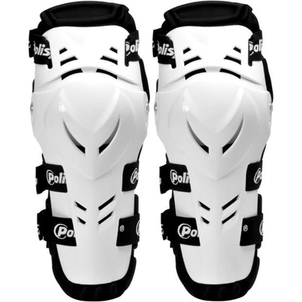 Devil knee shin guard white for adult