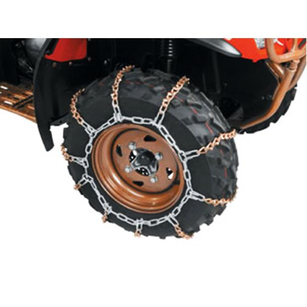 V-Bar Tire Chains 8 till small 9 tires / wheels Quad ATV