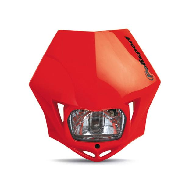 Headlight red MMX universal motorcycle