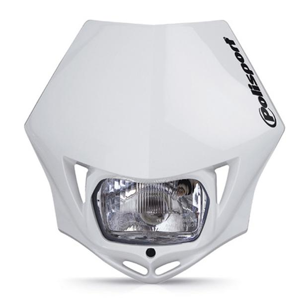Headlight white MMX universal for motorcycle