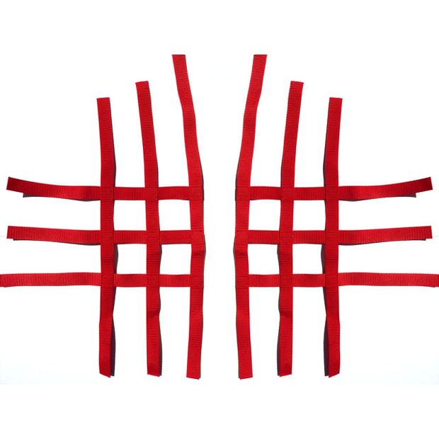 net for Nerf Bars R1 red