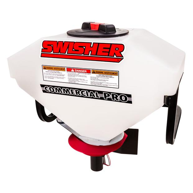 Swisher spreader seeder ideal for winter and  ideal...