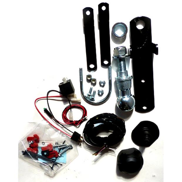 Ball Hitch Trailer hitch kit Yamaha Grizzly125 - Breeze...